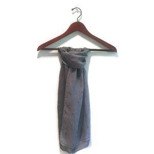 NWOT Banana Republic 100% silk scarf made in Italy